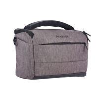 Andoer Cuboid-shaped DSLR Camera Shoulder Bag Portable Fashion Polyester V4G0