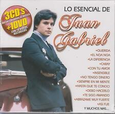 CD - Juan Gabriel NEW Lo Esencial 3 CD's & 1 DVD Fast Shipping !
