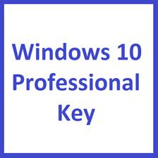 Windows 10 Pro Professional Microsoft 32 & 64 Bit Product Key Produktschlüssel