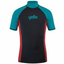 Yello Boys Rash Vest Thresher Surf Swim Beach Scuba. Size: S, XS,XXS