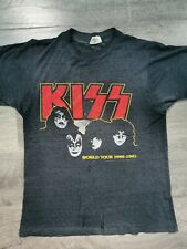⭐ KISS original t-shirt 1980 - 1981 Rare Vintage Eric Paul Ace Gene UK TOUR
