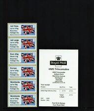 Errore di HMS trincomalee Royal Navy Trafalgar giorno BANDIERA C/STRIP b9gb16 a006 POST-GO