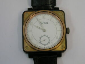 Parnis Watch Large Two Tone Case