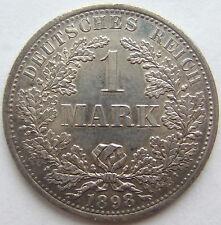 TOP! 1 Mark 1898 A in fast STEMPELGLANZ SEHR SELTEN !!!