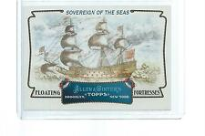 2011 TOPPS ALLEN & GINTER FLOATING FORTRESSES SOVEREIGN OF THE SEAS #FF5