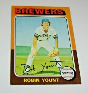 1975 Topps Robin Yount ROOKIE RC #223 Beautiful Key Card