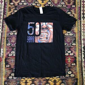 King Crimson 2019 Celebration 50 Years Tour Adult T shirt sz MEDIUM Gildan