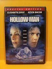 HOLLOW MAN Special Edition DVD Kevin Bacon, Elisabeth Shue, Josh Brolin
