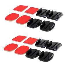 Accesorie Set For Gopro Curved 4PCS Set Base Adhesive Mount 3MVHB Sickers Her
