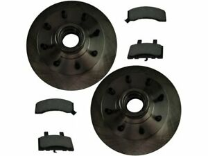 For 1997-2000 GMC C3500 Brake Pad and Rotor Kit Front 75351TZ 1998 1999 RWD