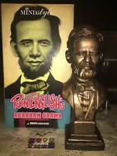 "Ron English Abraham Obama 15"" Vinyl Bust - MINDstyle & Popaganda Asia Exclusive"