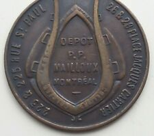 New ListingUndated Montreal Canada Balmoral Oil Company medal