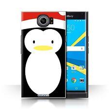 STUFF4 Back Case/Cover/Skin for BlackBerry Priv/Christmas Character