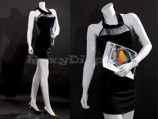 Female Fiberglass Headless style Mannequin Dress Form Display #Mz-Lisa10Bw