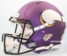 MINNESOTA VIKINGS - Riddell Full-Size Speed Authentic Helmet (Satin Puple)