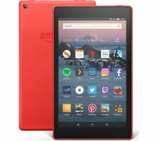 AMAZON Fire HD 8 Tablet (2018) - 16 GB, Red - Currys