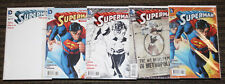 DC Superman (2011) #32 FIVE COVER SET Bombshells, 1:25 B&W, Combo & Blank 1st Oz