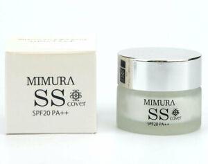 MIMURA SS Cover Smooth Skin Primer 20g Poreless Long Lasting Hydrating SPF JAPAN