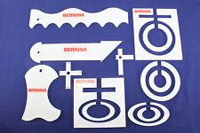 Original BERNINA - Formschablonenset für Rulerfuß 72 Ruler-Fuß Ruler-Kit