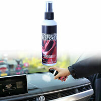 30ml/50ml Plastic Parts Retreading Agent Wax Car Maintenance Care U4A3