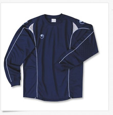 Uhlsport MYTHOS Professional Soccer Goalkeeper top camiseta Jersey Shirt $40 XL