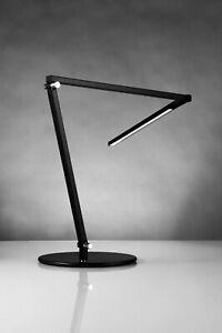 Koncept Technologies Black Z-Bar LED Adjustable LampHL3100D-MBK Minimalist