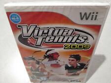Virtua Tennis 2009 Nintendo Wii Brand New Factory Sealed Wii U Sega virtual