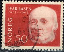 Norway Famous Writer Ivar Aasen stamp