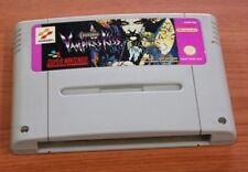 JEU super nintendo  Castelvania Vampire's Kiss EUR  SNES