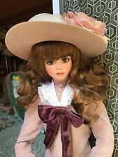 "JAN McLEAN """"CLAUDIA-ROSE"""" 23 inches tall PORCELAIN DOLL"