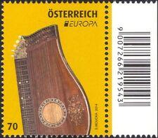 Austria 2014 EUROPA/CETRA/MUSICA/strumenti musicali a corda con/1v (at1267)