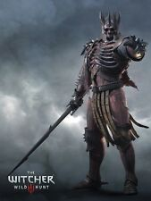 POSTER THE WITCHER 2 3 KING OF THE WILD HUNT EREDIN GERALT OF RIVIA VIDEOGAME #4