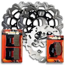 Suzuki F+R Brake Rotor+Pads GSXR600 K6/7 [06-08] 750 K6/7 [06-07] GSXR1000 07-08