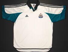 Newcastle United Mens Adidas Away Football Shirt 1999 NO SPONSOR RARE Size XXL