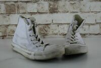 Converse All Star White Hi-Top Trainers size Uk 5