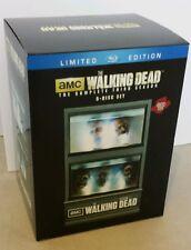 THE WALKING DEAD SEASON 3 FISH TANK LTD. EDITION 5 DISC BLU RAY SET....BRANDNEW!