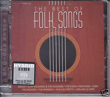 The Best of Folk Songs Hybrid SACD CD Bread Cliff Richard Shadows Lobo Dan Seals