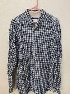 Columbia Plaid Shirt XL