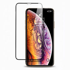 1Pc HD 5D Full Cover Tempered Glass Silk Screen Protector For iPhone X XS Max XR