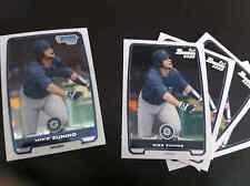 2012 Bowman Draft Mike Zunino BDPP25 Seattle Mariners 5 cnt; 1 chrome 4 base lot