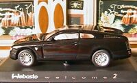 WEBASTO WELCOME 2 CONCEPT CAR NOREV 1/43 BLACK NOIR