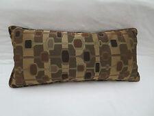 Pindler Pindler Fabrics 8447 Lumbar Pillow Geometric Feather Down 24 In x 11 In