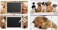 Nintendo DSi NDSi-Chien Chiot Mignon - 4 pièces-Autocollant peau UK