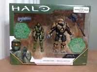 "HALO Infinite Series 1 Master Chief & Brute Chieftan 3.75"" Figures WCT Jazwares"