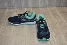 Saucony Triumph ISO 3 Athletic Shoes - Women's Size 9 - Navy/Green