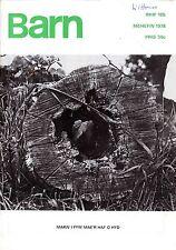 "HEFINA JONES - TREVOR FISHLOCK - JOHN EVANS - WELSH MONTHLY ""BARN"" No 185 (1978)"