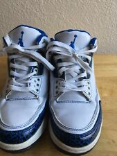 "2007 Nike Air Jordan 3 LS ""Do The Right Thing"" 315297-140 00 PreOwner SZ 7 Y"
