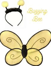 Buzzing Bee Costume Kids Toddler Wings And Antennae