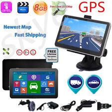 7''TRUCK CAR Navigation GPS Navigator SAT NAV 8GB All US Map SPEEDCAM POI