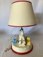 Vintage Fisher Price Baby Room Musical Rocking Horse Nursery Lamp Works Great
